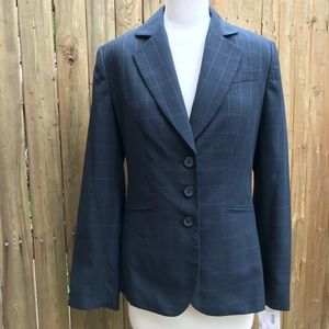 Travis Ayers for Dress Barn Windowpane Blazer NWT